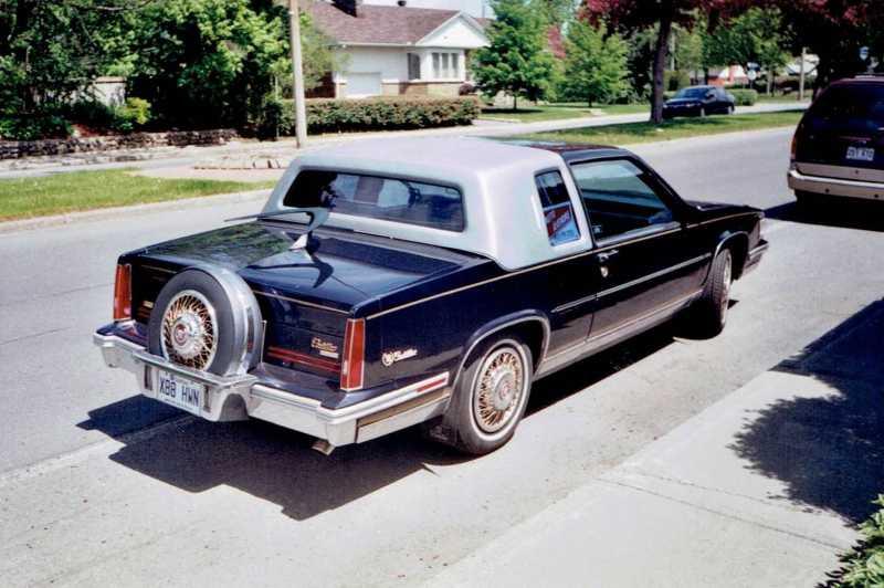 1988 Cadillac DeVille Gold Edition