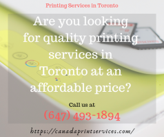 Printing Services in Toronto | Canada Print