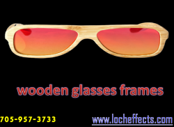 Buy Wooden Frame Glasses Online at Loch Effects